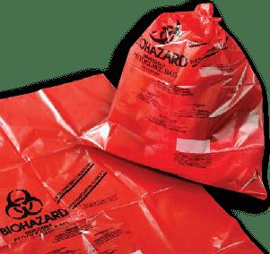 Descotamination bags